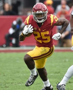 Ronald Jones II rushed for three touchdowns in week one against Western Michigan.