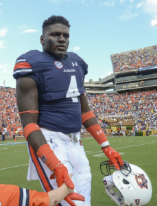 Pass rusher Jeff Holland is comparable to fellow Auburn alum Dee Ford, who was selected 23rd overall in 2014.