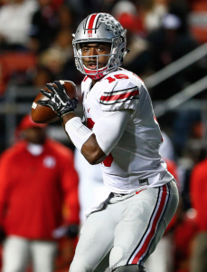The three-time Buckeye captain might be the most appealing late-round quarterback option in the 2018 draft.