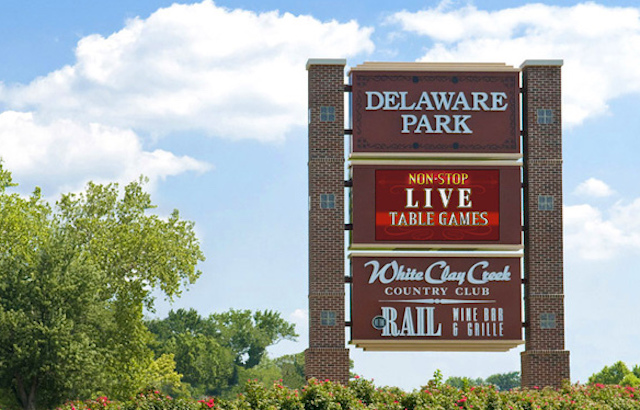 delaware sports betting at delaware park after one month
