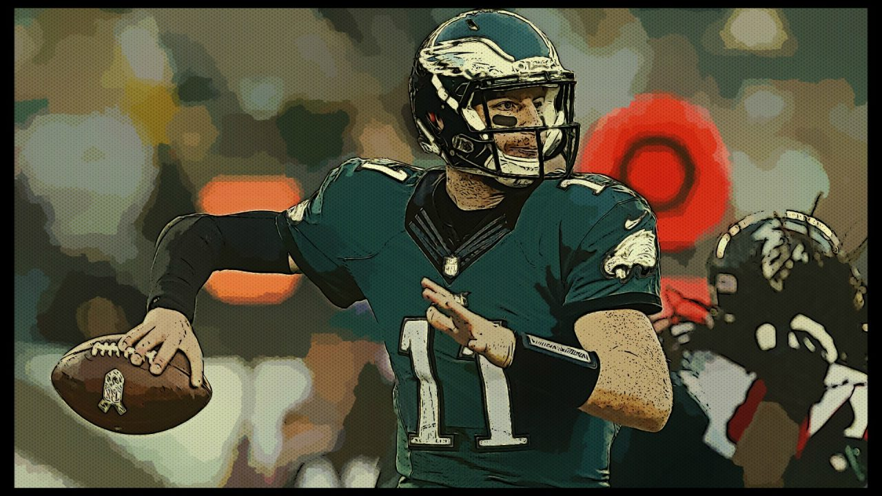 Eagles QB Wentz won't practice Wednesday, could miss Rams matchup