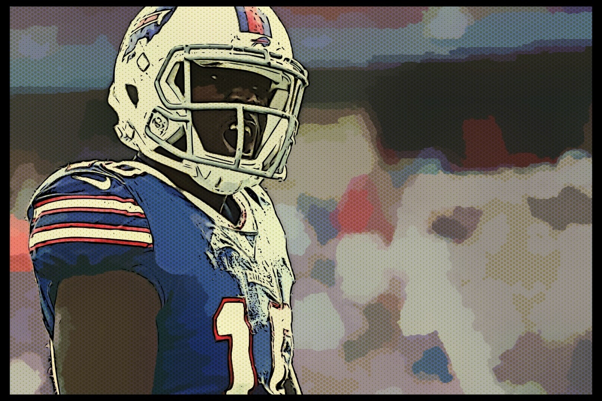 Receiver Deonte Thompson back with Bills for 3rd time